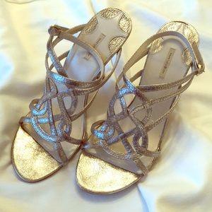 Max Studio Gold Sandals